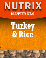 Naturals - Turkey and Rice - Hypoallergenic Dog Food