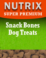 Super Premium - Premium Snack Bones - Chicken Hypoallergenic Dog Treats