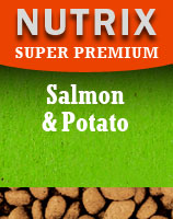 Super Premium Salmon and Potato Dog Food - Grain Free
