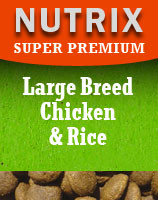Super Premium - Chicken & Rice - Large Breed