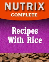 Hypoallergenic dog food from Nutrix Pet Foods